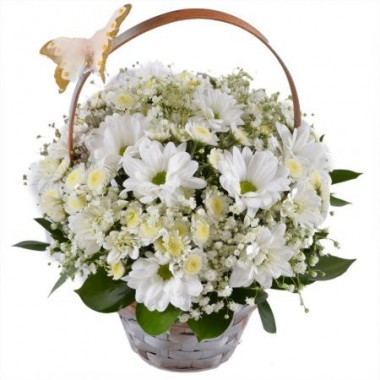 K5 FLOWER ARRANGEMENT WITH CHRYSANTEMUM
