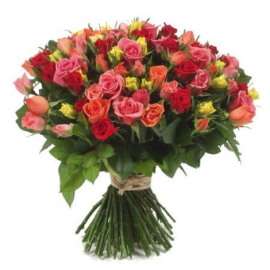 A36 BOUQUET OF MIX ROSES