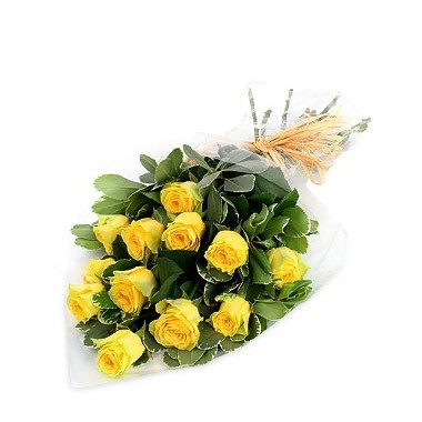 A39 BOUQUET OF YELLOW ROSES