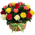 K3 FLOWER ARRANGEMENT WITH MIX ROSES