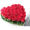 S2 FLOWER ARRANGEMENT HEART WITH  ROSES