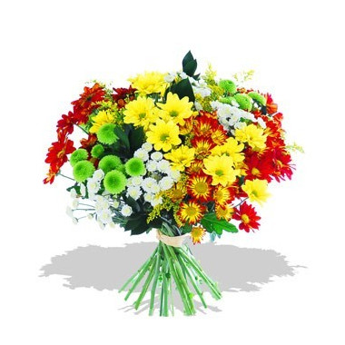 A88 BOUQUET OF CHRYSANTHEMUMS