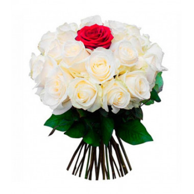 A109 BOUQUET OF 25 ROSES