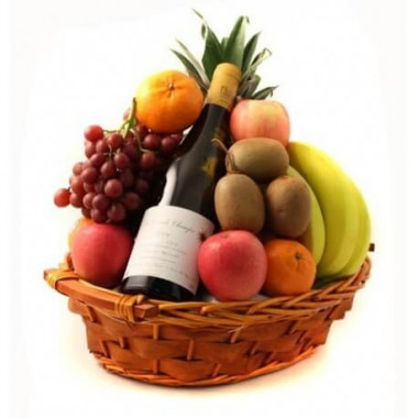 P9 FRUIT BASKET WITH WINE