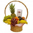 P2 FRUIT BASKET AND CHAMPAGNE MARTINI ASTI